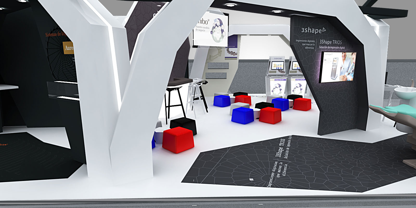 proyecto stand feria