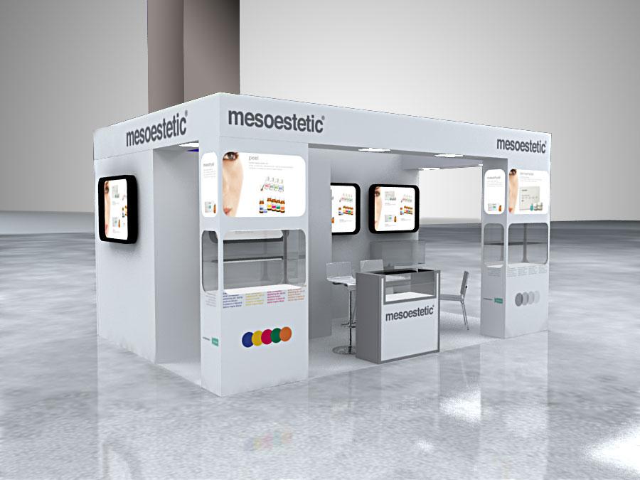diseno stands modulares