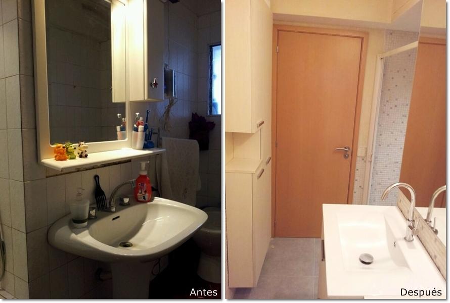 Reforma Baño Granollers:Reforma integral de un baño pequeño en Granollers