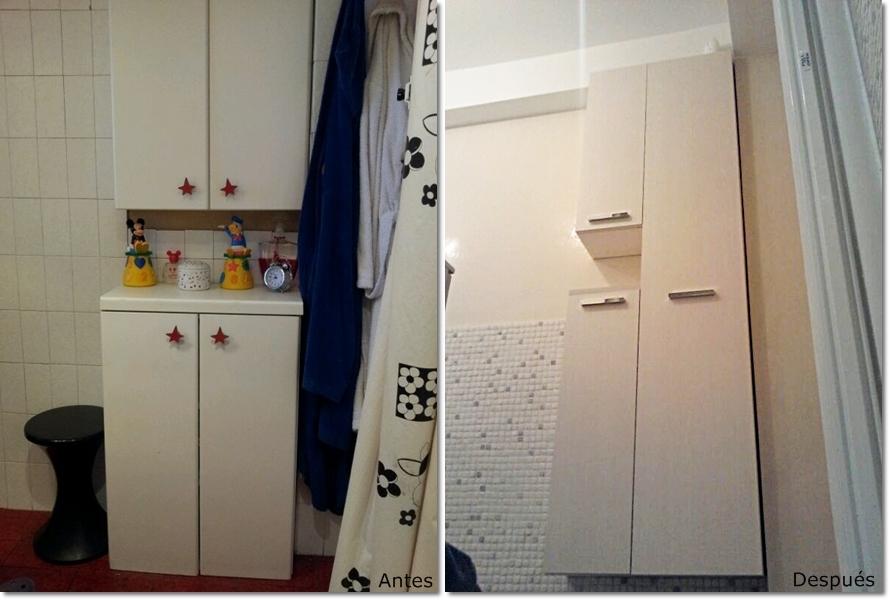 Muebles Baño Medidas Reducidas:Renovación baño con muebles a medida