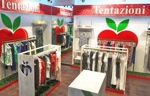Nueva imagen corporativa tiendas Tentazioni