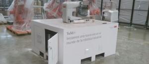 Módulos para demostración de producto: robots ABB