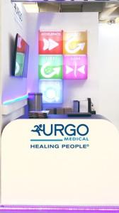 Stand de diseño para un congreso médico
