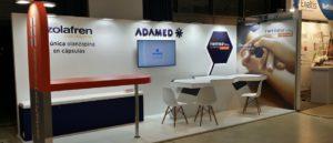 Congreso Nacional de Psiquiatría: montaje de stand para Adamed
