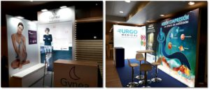 Congresos en Madrid: stands para Urgo Medical y Kern Pharma